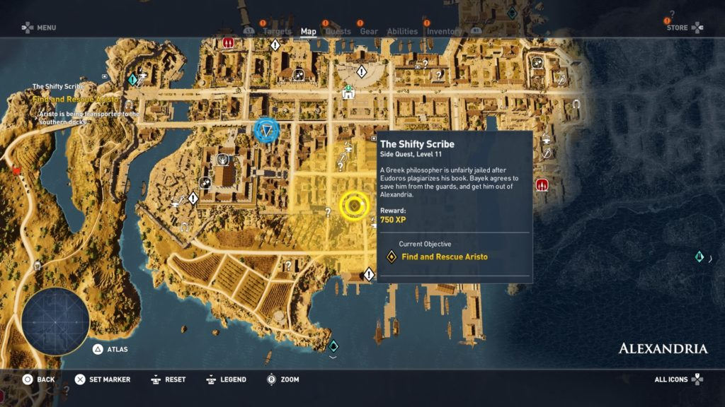 ac-origins-the-shifty-scribe-quest-guide