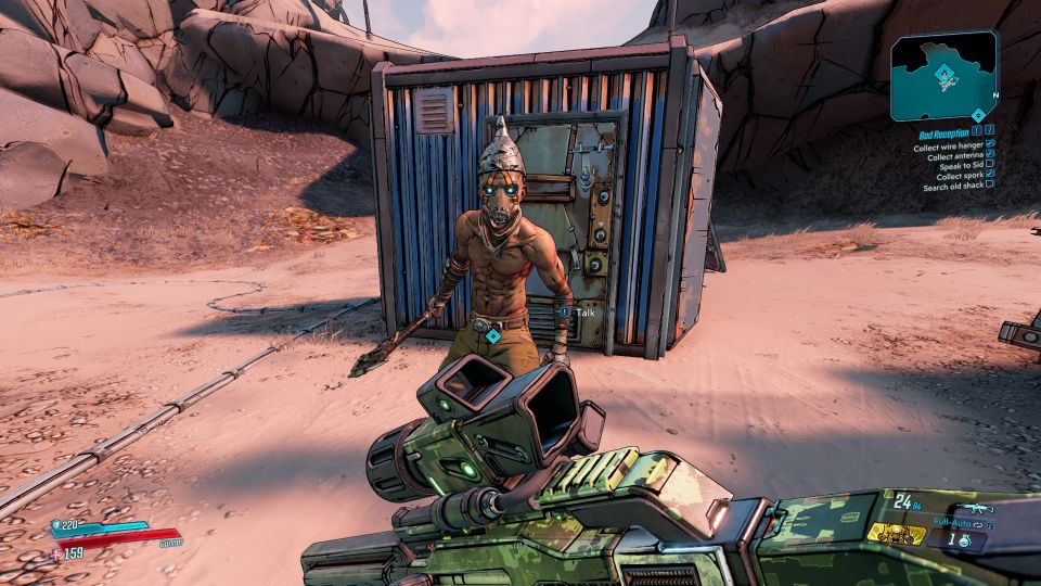 borderlands 3 - bad reception location