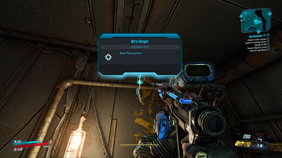 borderlands 3 - bad reception mission