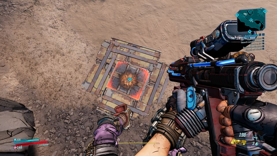 borderlands 3 - bad reception quest guide
