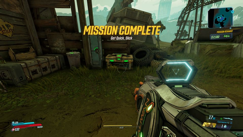 borderlands 3 - get quick slick wiki