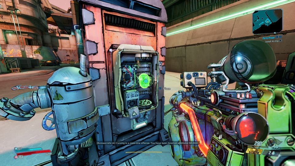 borderlands 3 - porta prison mission wiki