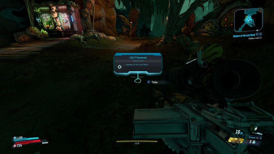 borderlands 3 - raiders of the lost rock mission guide