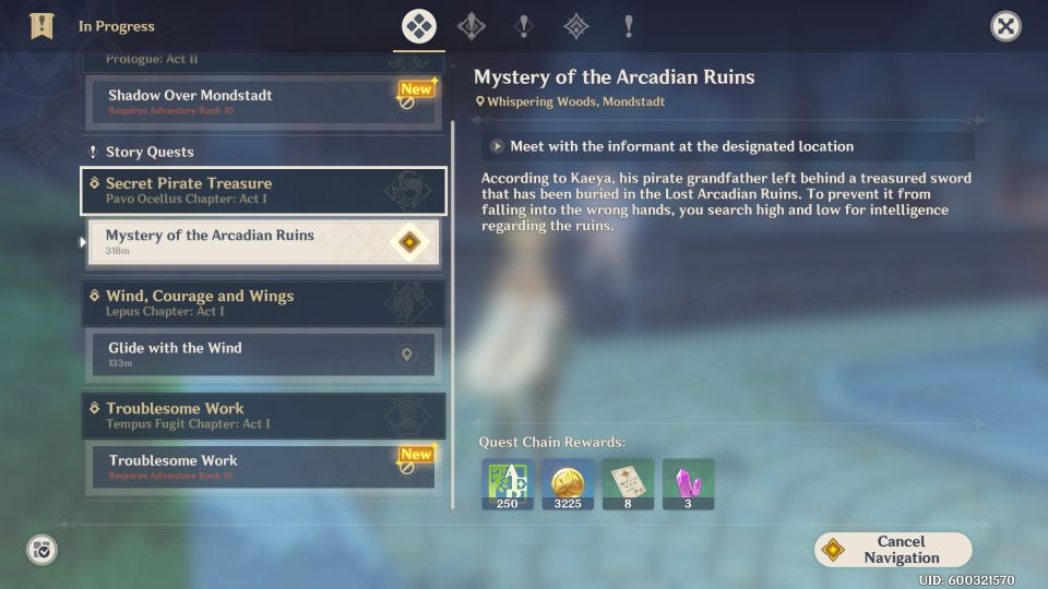 Genshin Impact Secret Pirate Treasure Walkthrough Guide