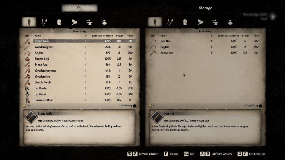 dinastía medieval gratis guadaña y azada