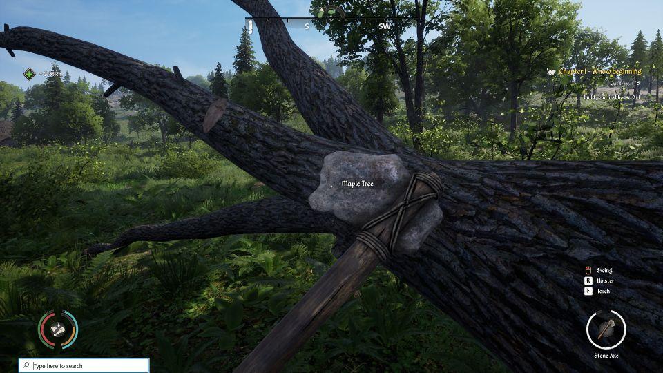 dinastía medieval cómo cortar árboles
