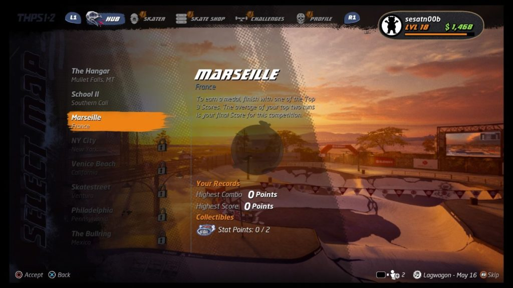 thps 1 + 2 - marseille guide