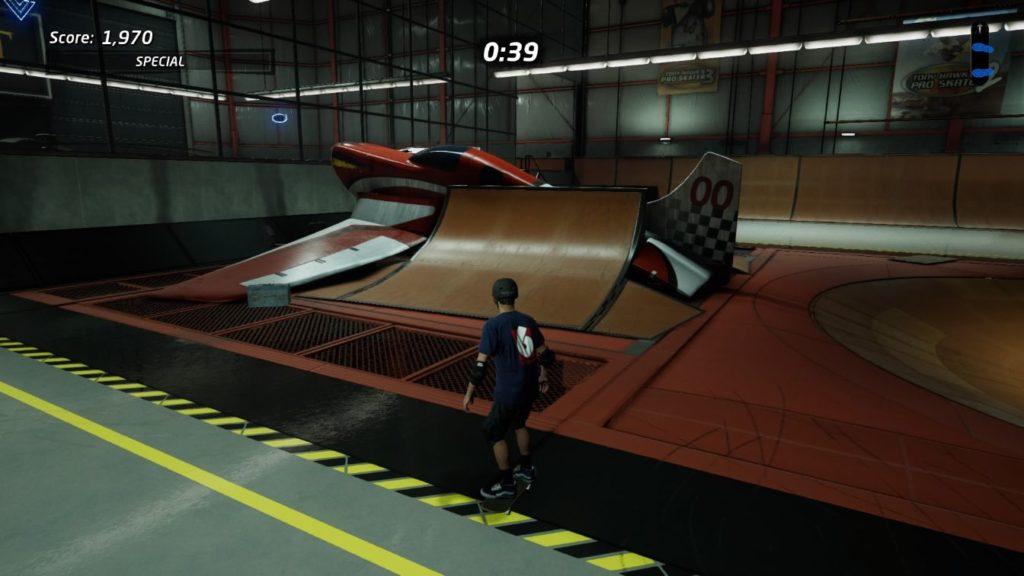 thps 1 + 2 - the hangar how to enter secret room