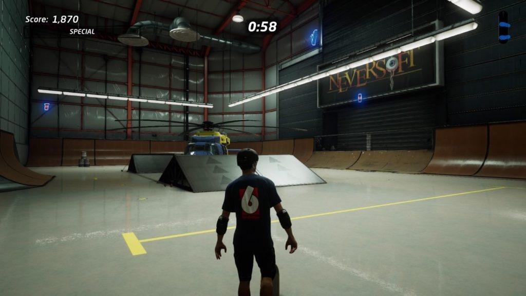 thps 1 + 2 - the hangar secret room
