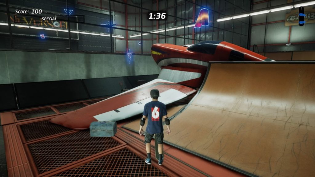 tony hawk pro skater 1 + 2 - hangar - how to reach vicarious visions symbol