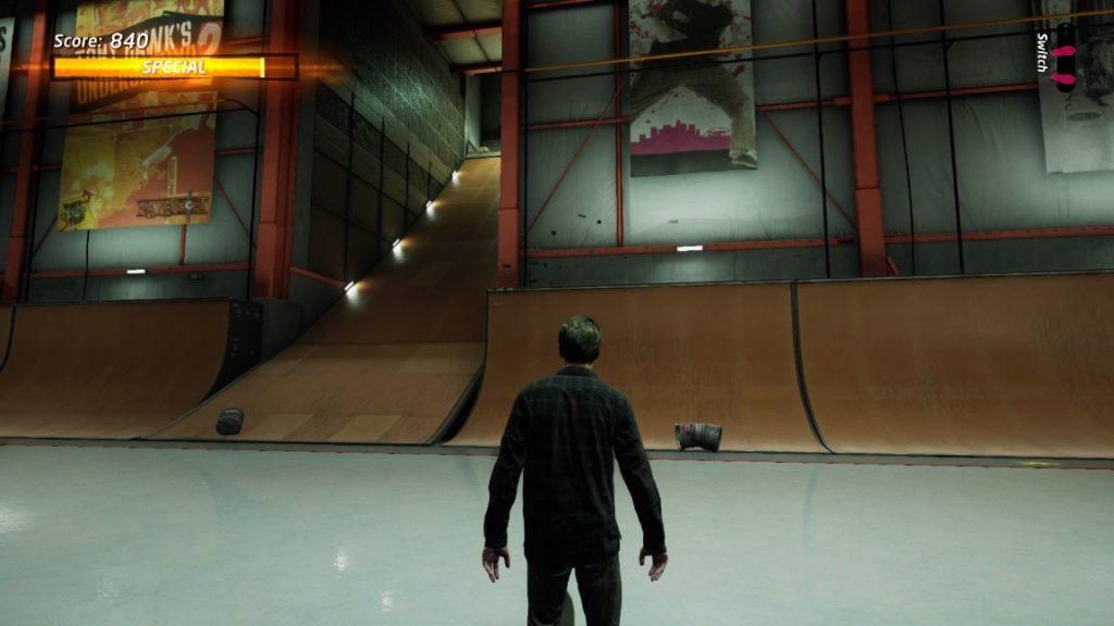 tony hawk's pro skater 1 + 2 - hangar gaps all