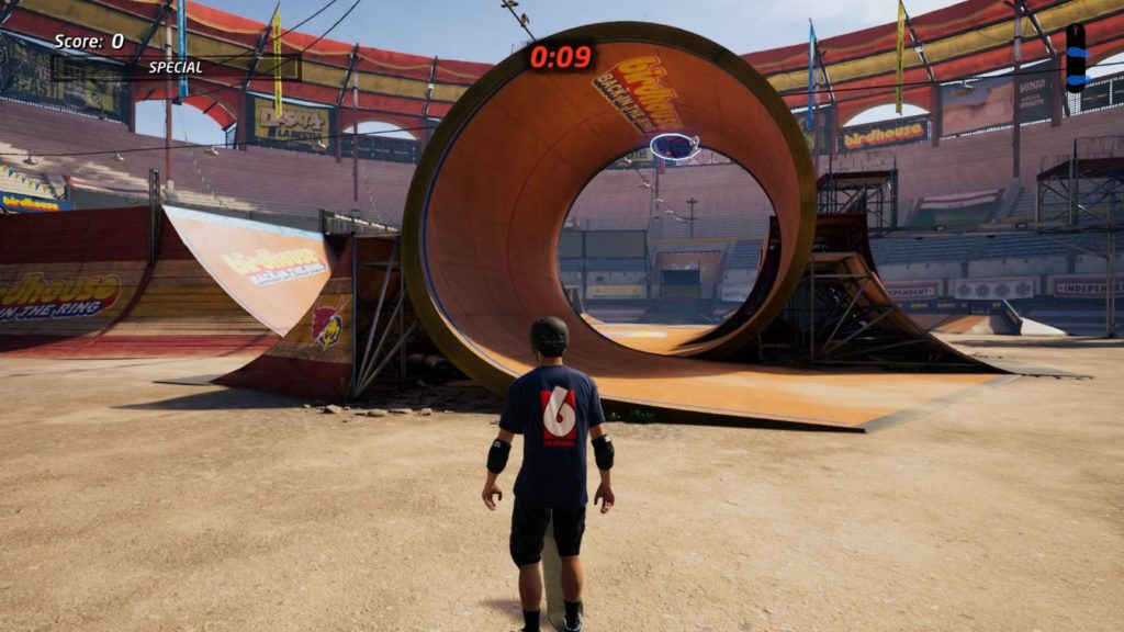 tony hawk's pro skater 1 + 2 - the bullring how to get all stat points