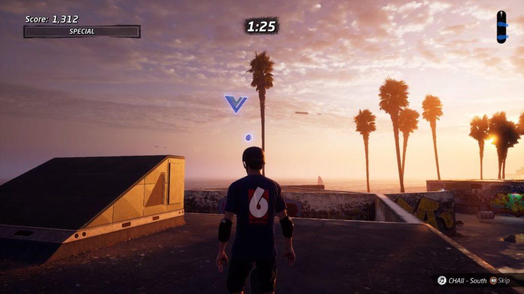tony hawk's pro skater 1 + 2 - venice beach location of vb transfer
