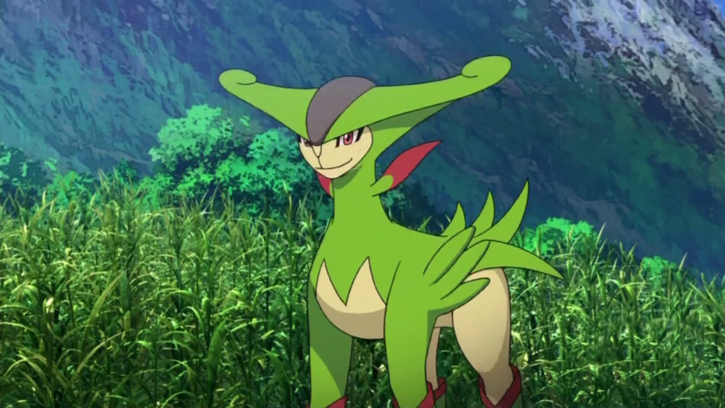current strongest grass type pokemon