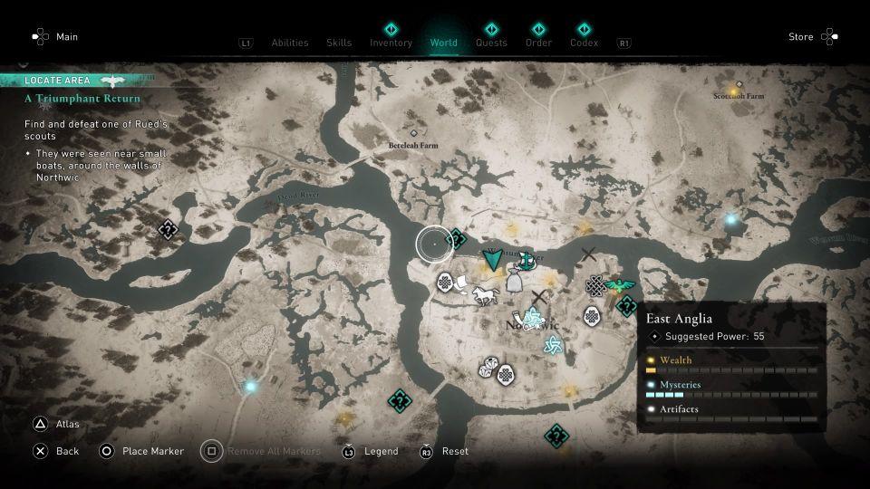 ac valhalla - a triumphant return quest guide