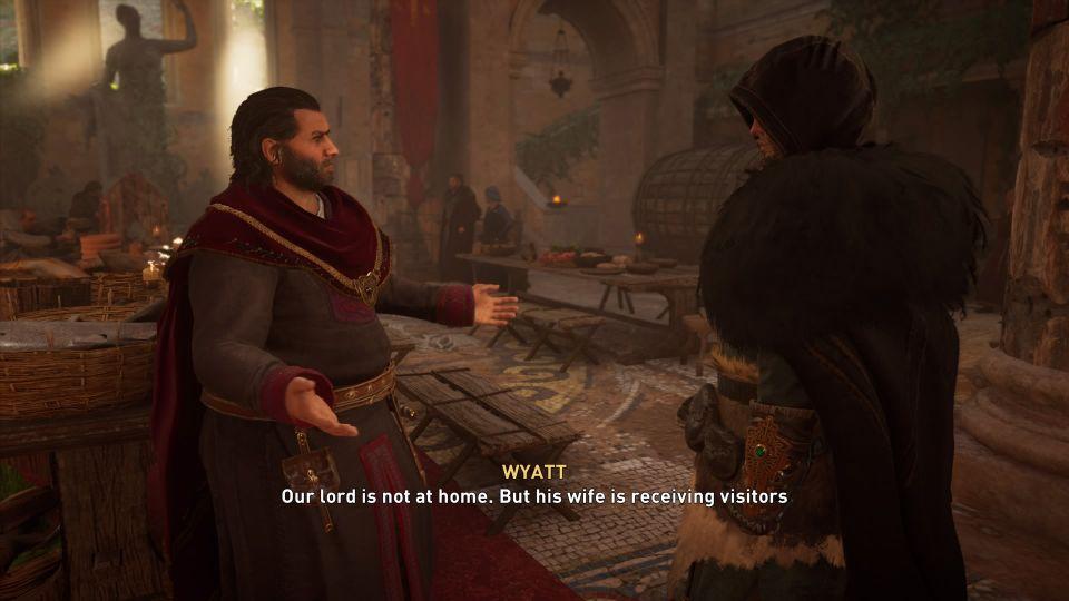 ac valhalla - an uncommon proposition quest