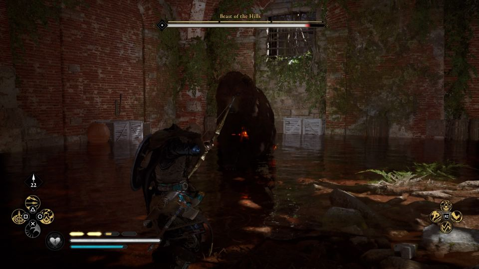 ac valhalla - beast of the hills weakness
