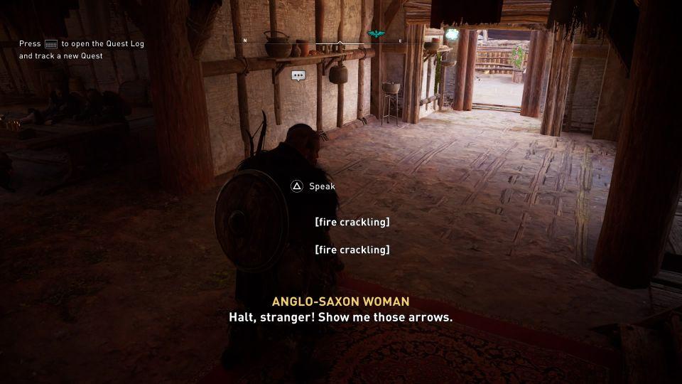 ac valhalla - edmund's arrows quest