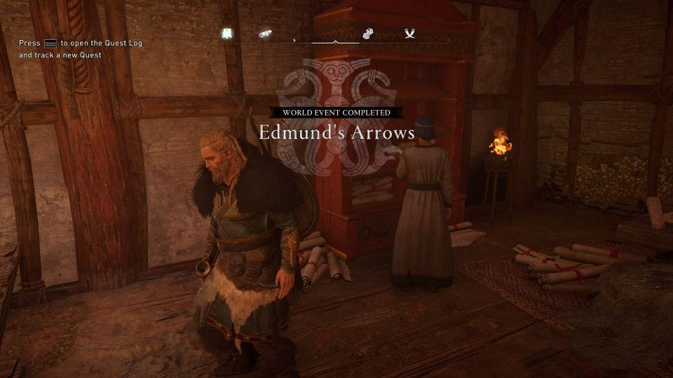ac valhalla - edmund's arrows wiki