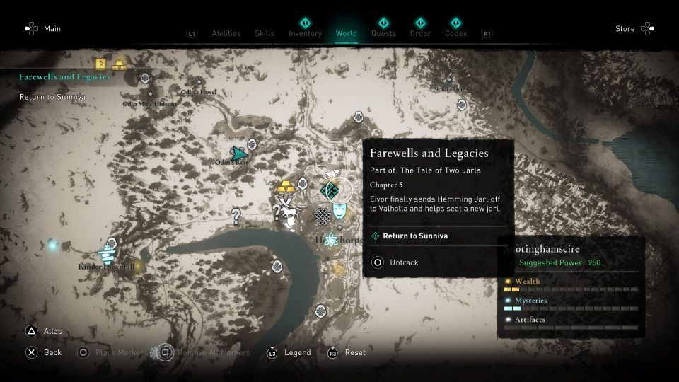 ac valhalla - farewells and legacies wiki