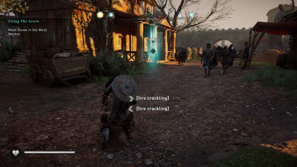 ac valhalla - firing the arrow quest