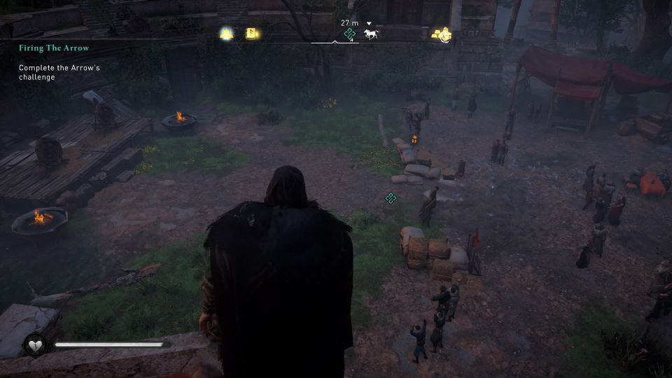 ac valhalla - firing the arrow tips