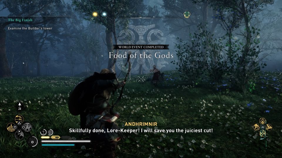 ac valhalla - food of the gods wiki
