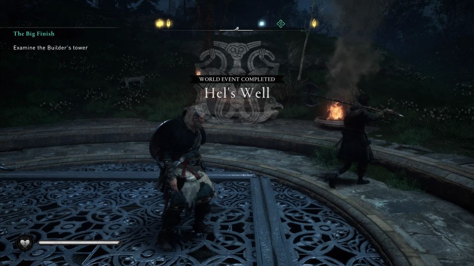 ac valhalla - hel's well consequences