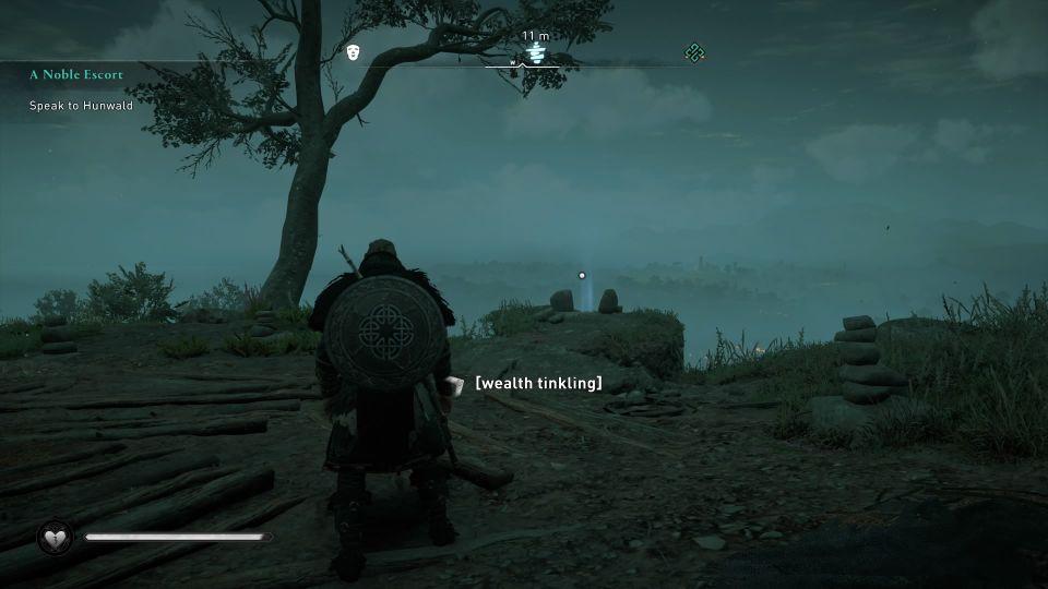 ac valhalla - high rocks cairn guide