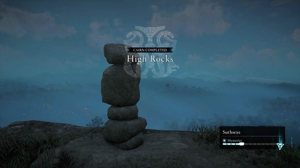 ac valhalla - high rocks cairn suthsexe