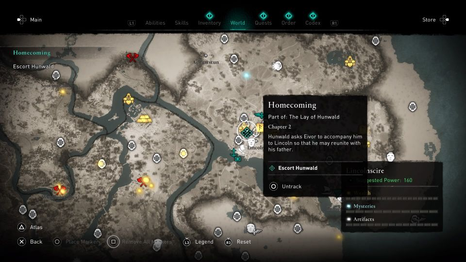 ac valhalla - homecoming guide