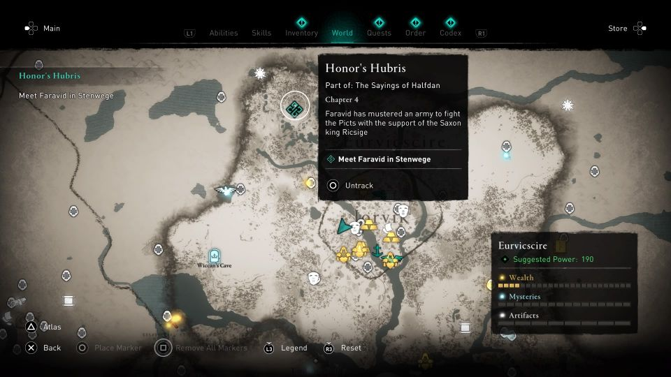ac valhalla - honor's hubris guide