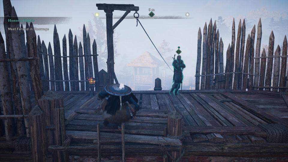 ac valhalla - honor's hubris quest