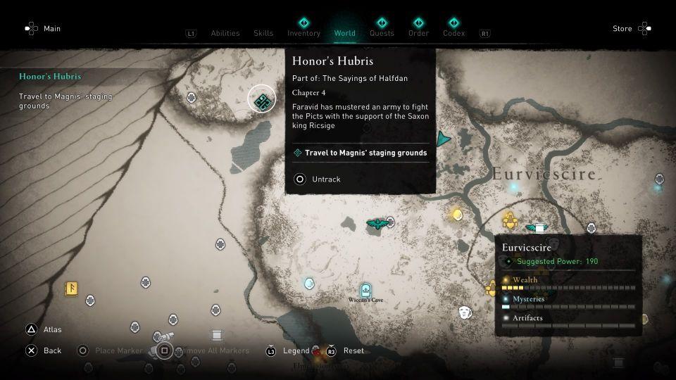 ac valhalla - honor's hubris walkthrough