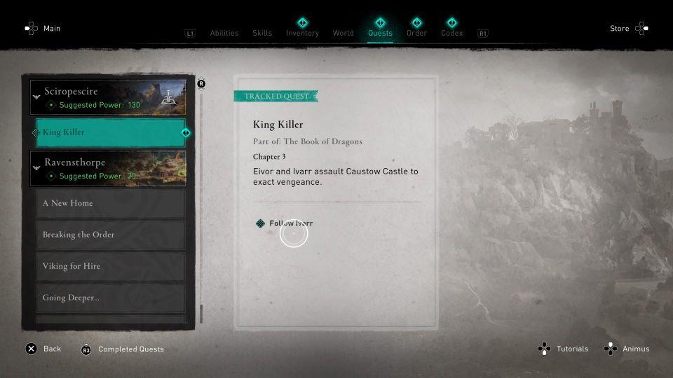 ac valhalla - king killer