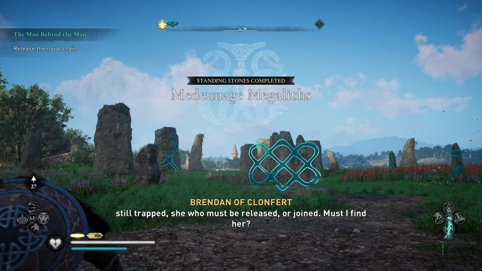 ac valhalla - meduuage megaliths standing stone cent