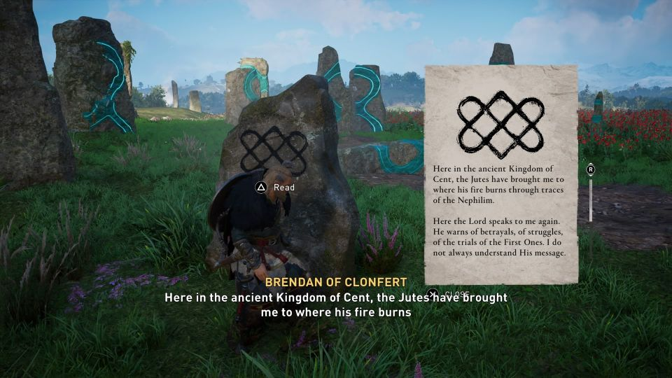 ac valhalla - meduuage megaliths standing stone how to do