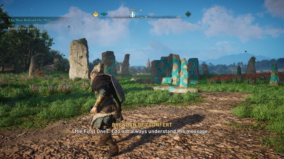 ac valhalla - meduuage megaliths standing stone walkthrough