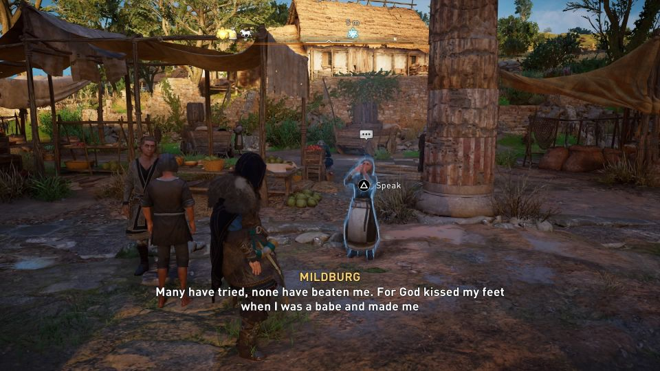 ac valhalla mildberg the miracle legs guide