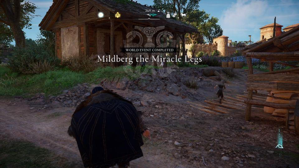 ac valhalla mildberg the miracle legs wiki