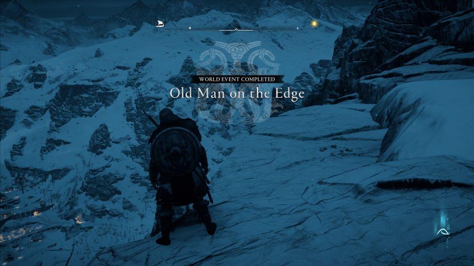 ac valhalla - old man on the edge wiki
