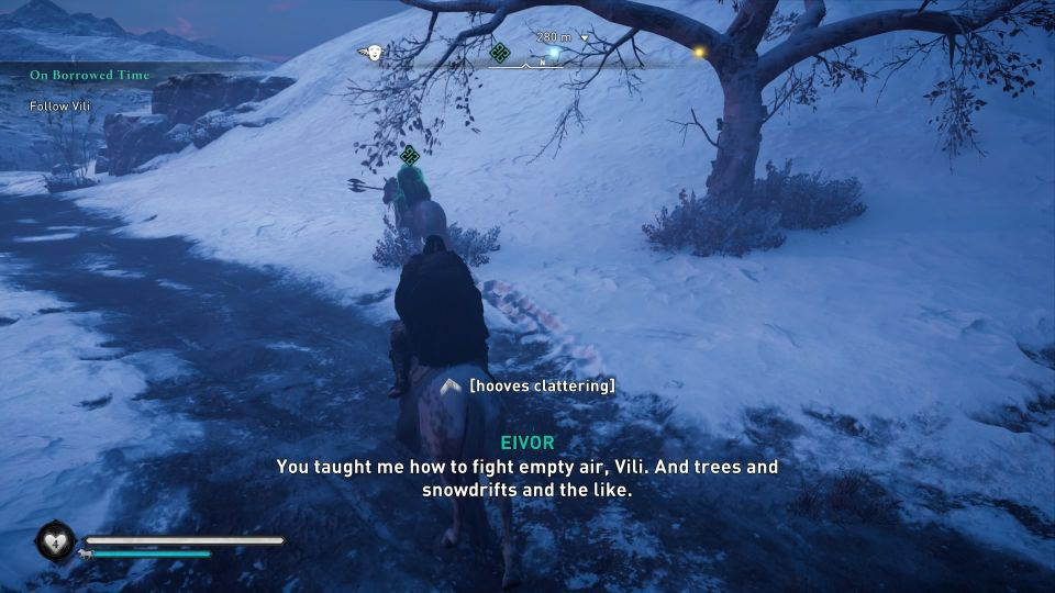ac valhalla on borrowed time quest