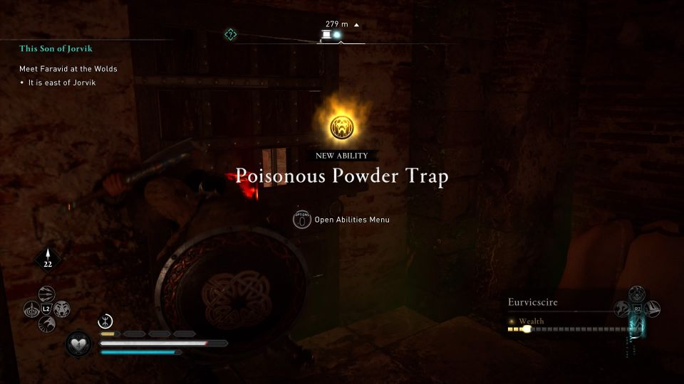 ac valhalla petuaria ruins book of knowledge how to get