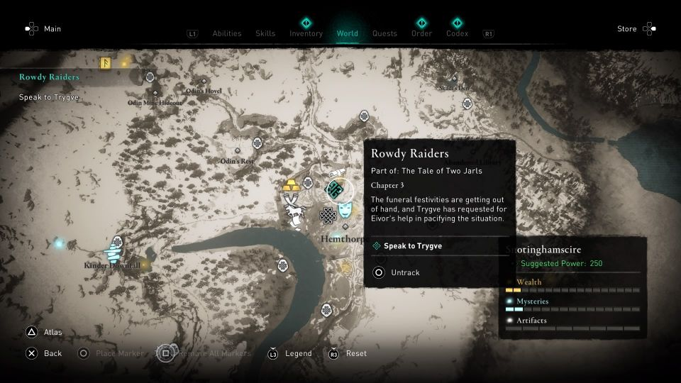 ac valhalla rowdy raiders guide