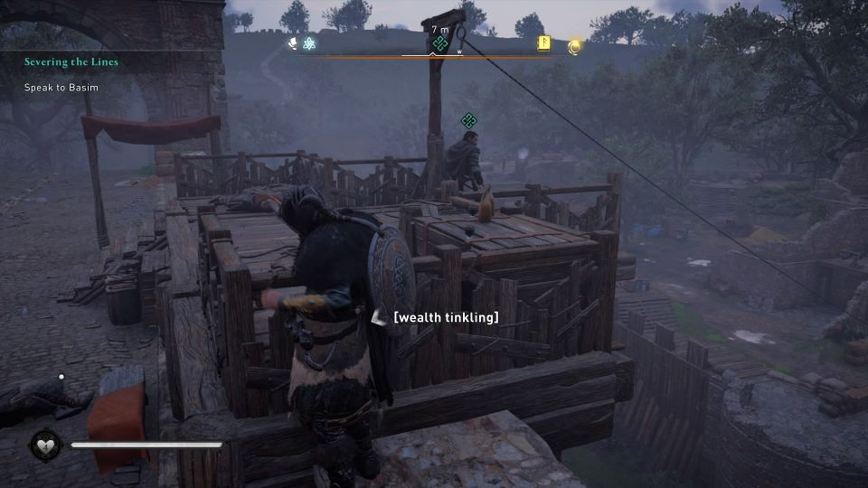 ac valhalla - severing the lines quest