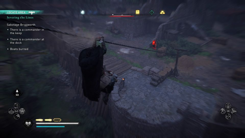 ac valhalla - severing the lines wiki