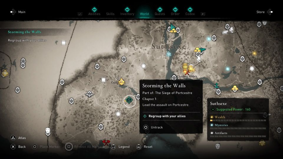 ac valhalla - storming the walls guide