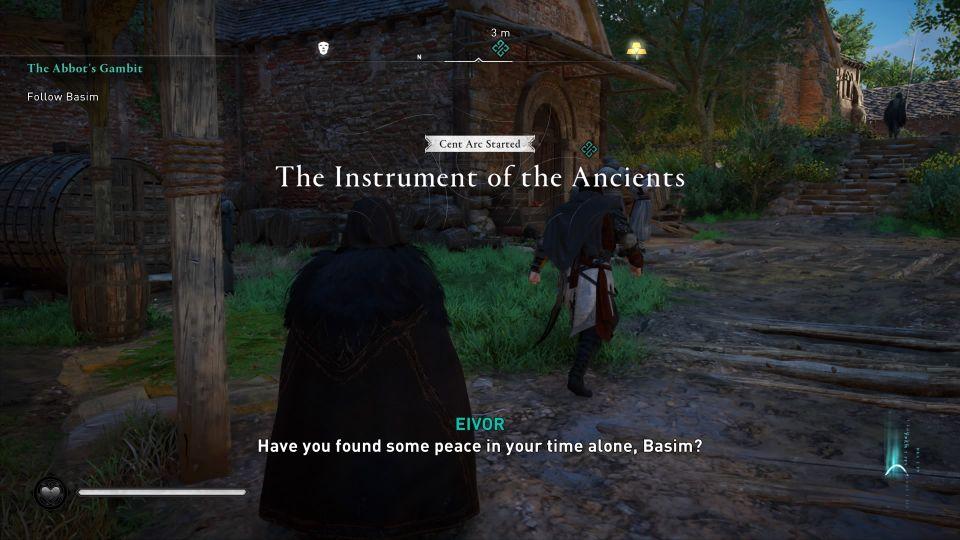 ac valhalla - the abbot's gambit walkthrough