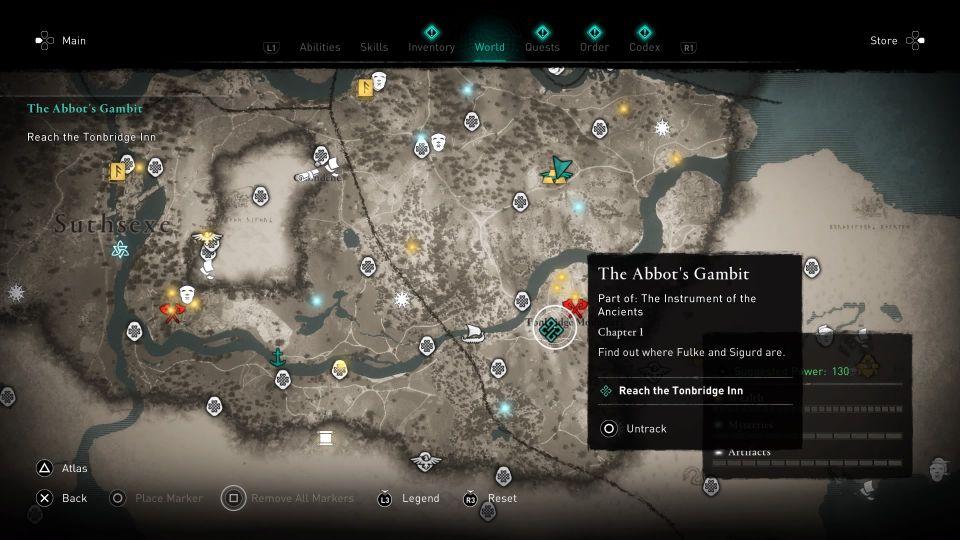 ac valhalla - the abbot's gambit wiki