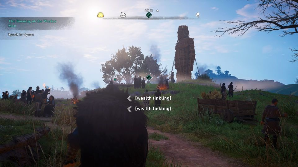 ac valhalla - the burning of the wicker man wiki